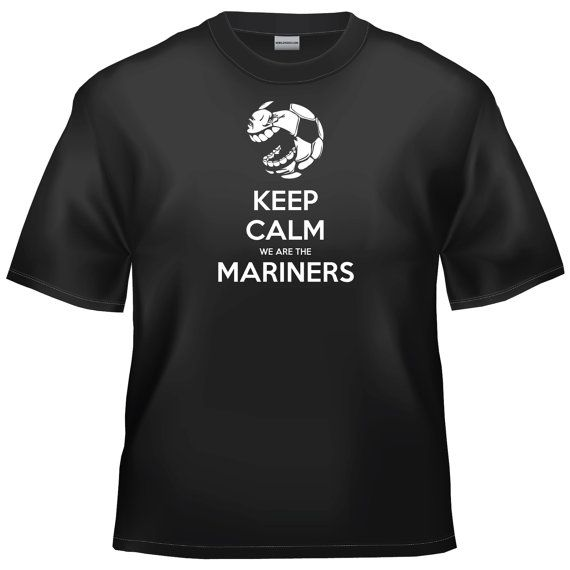 Grimsby Town - Keep calm we are the Mariners t- shirt