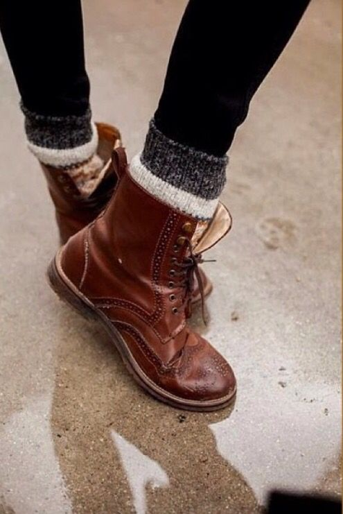 Boots and socks