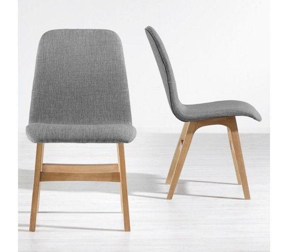 Stylischer Stuhl In Grau Und Braun   Ein Sitzplatz Mit Retro Charme