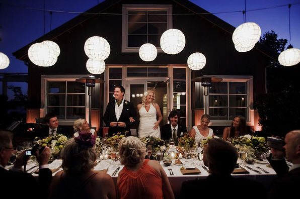 Invite less guests for a cheap wedding - http://casualweddingdresses.net/cheap-wedding-bridal-dream-wedding-for-every-budget/