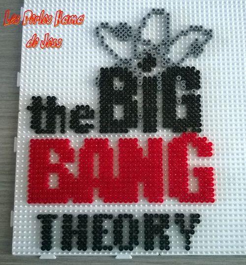 The Big Bang Theory hama perler beads by Jessica Bartelet - Les perles Hama de Jess