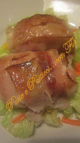 Involtini di pollo al bacon