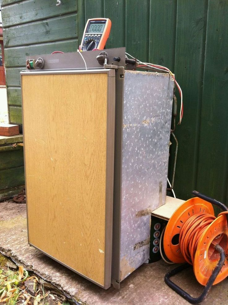 Motorhome/van/boat/caravan 3-way Electrolux fridge - RM 2200 overwheelarch model