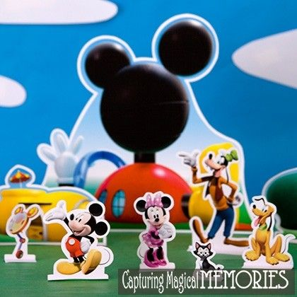 Mickey Mouse Clubhouse Printable Playset by Spponful courtesy of Disney