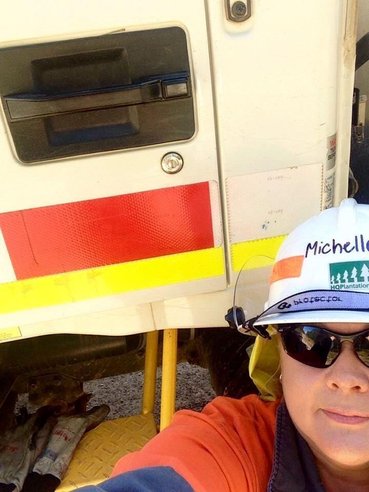 When the fire tanker door handle is higher than your head. Beerburrum, Queensland