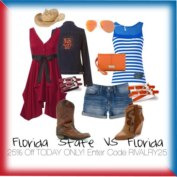 Florida State vs. Florida   RIVALRY DAY   25% off Site Wide   RIVALRY25