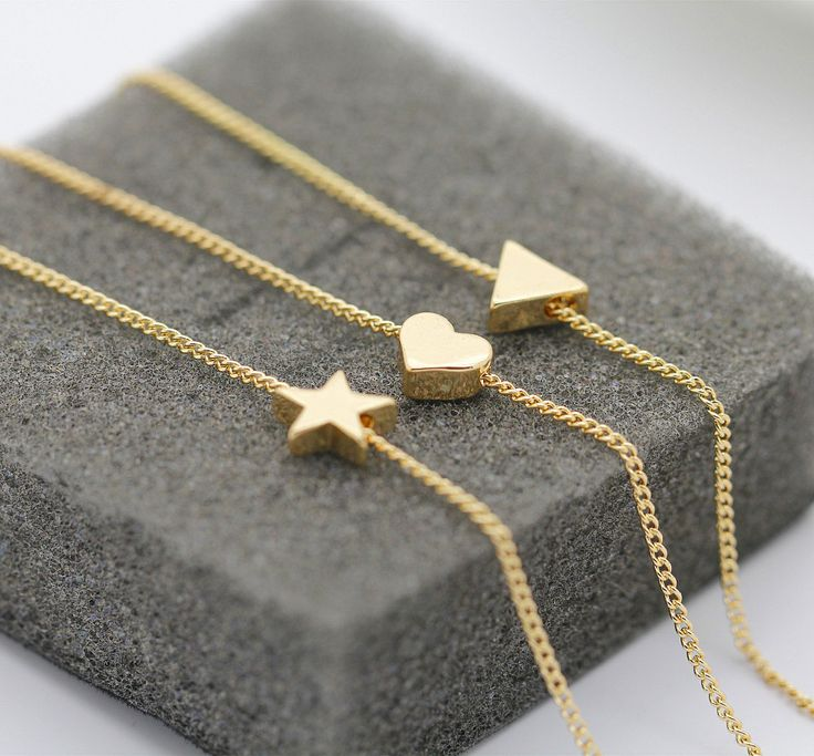 gold plating pendant necklace cute gold heart stars pendant necklace jewelry
