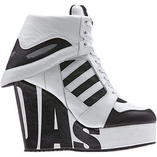 adidas - Streetball Platform Shoes Black / White / Black M29006
