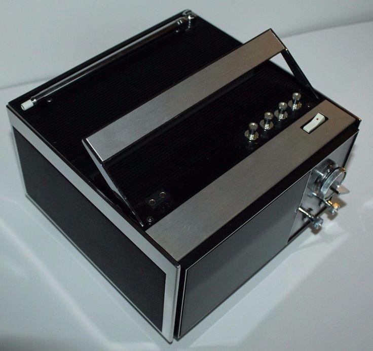 sony tv box. vintage sony transistor solid state 5\ tv box )