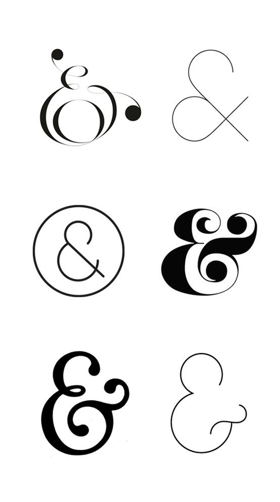 Also must have an ampersand. Open to style. #type #graphicdesign #typography