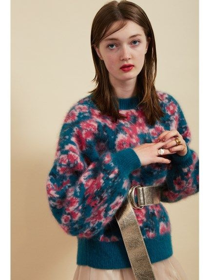 ジャガードニットプルオーバー(ニット)|snidel(スナイデル)|ファッション通販|ウサギオンライン公式通販サイト