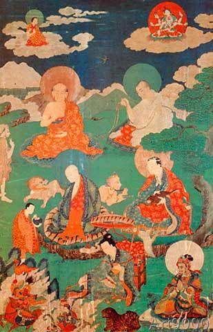Tibetanische Malerei - Tibetisches Thangka