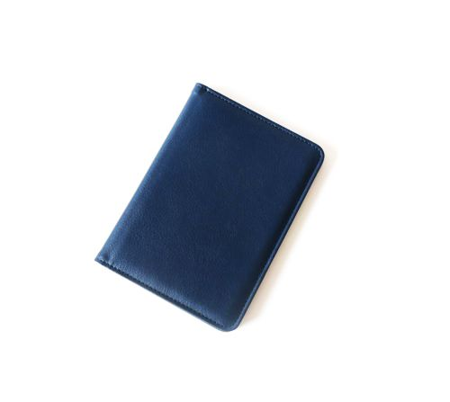 Lacivert Renkli PVC Erkek Pasaportluk