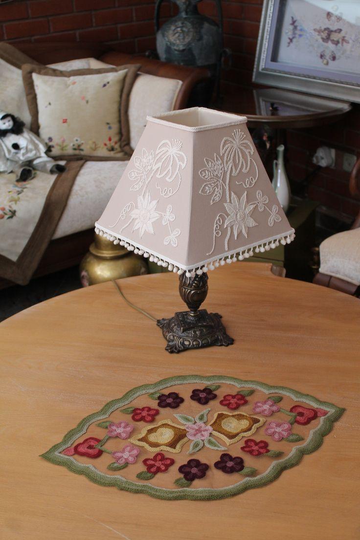 mountmellick nakısı -  handmade - embroidery