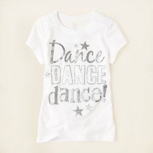 girl - dance dance graphic tee | Children's Clothing | Kids Clothes | The Children's Place