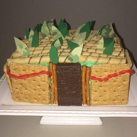 Sukkah Cake Made by @jesshakimi