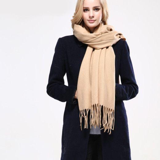 Dámsky bavlnený šál v 8 farbách - 190 cm x 70 cm