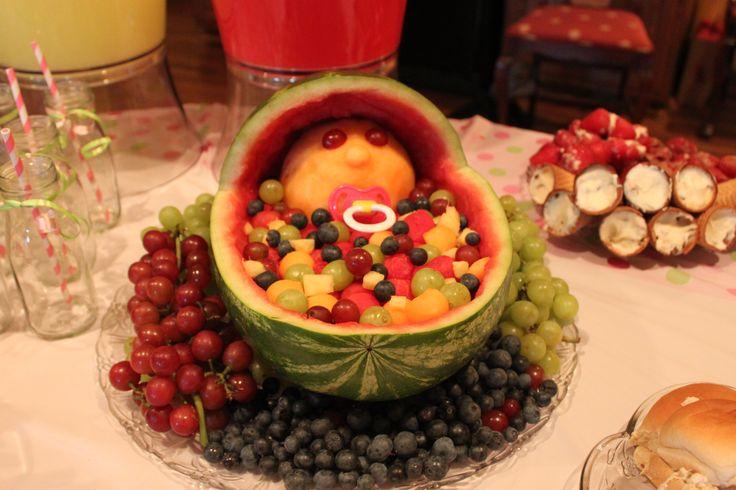 baby fruit basket baby shower for taylor pinterest