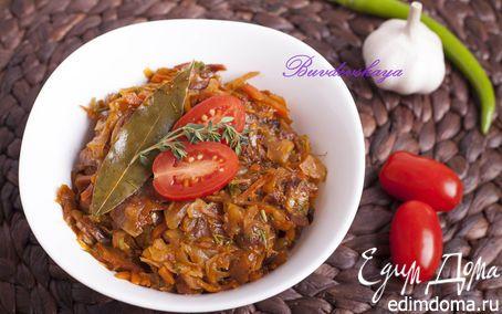 Капустная солянка с сосисками | Кулинарные рецепты от «Едим дома!»