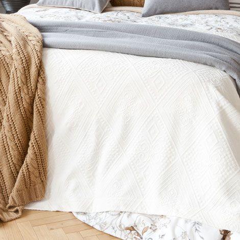 Diamonds Bedspread - Bedspreads - Bedroom - HOME COLLECTION | Zara Home United Kingdom