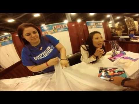 Steven Universe - Michaela Dietz (Amethyst) Autograph Signing/Meet and G...