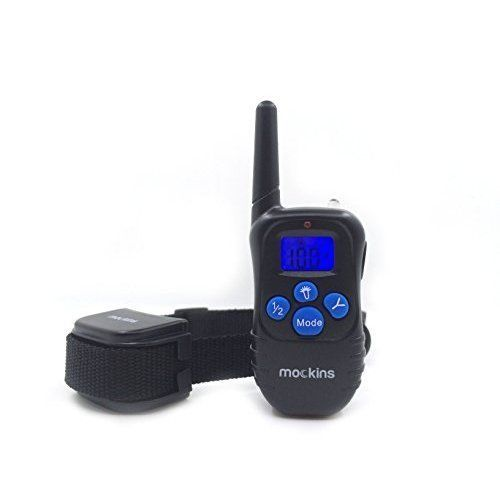 Dog Training Collar Remote Rainproof Rechargeable w/ Beep Vibration and Shock #DogTrainingCollar