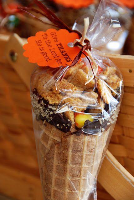 Candy Cornucopia, Autumn equinox, thanksgiving gifts
