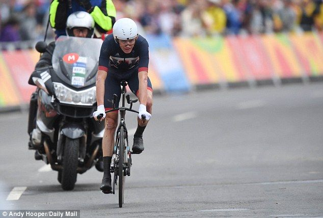 Chris Froome claims bronze for Great Britain in Rio 2016 Olympic Games time…