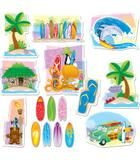 """Checkout the """"Surfing Bulletin Board Set"""" product"""