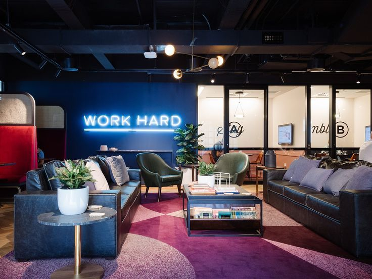 Inside Wework S Sydney Coworking Space Coworking Space Design Coworking Design Creative Office Space
