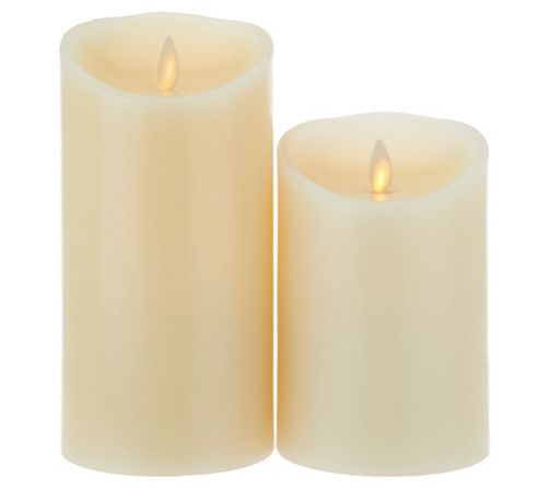 Give the gift of ambience with these Luminara flameless candles. Page 1 QVC.com