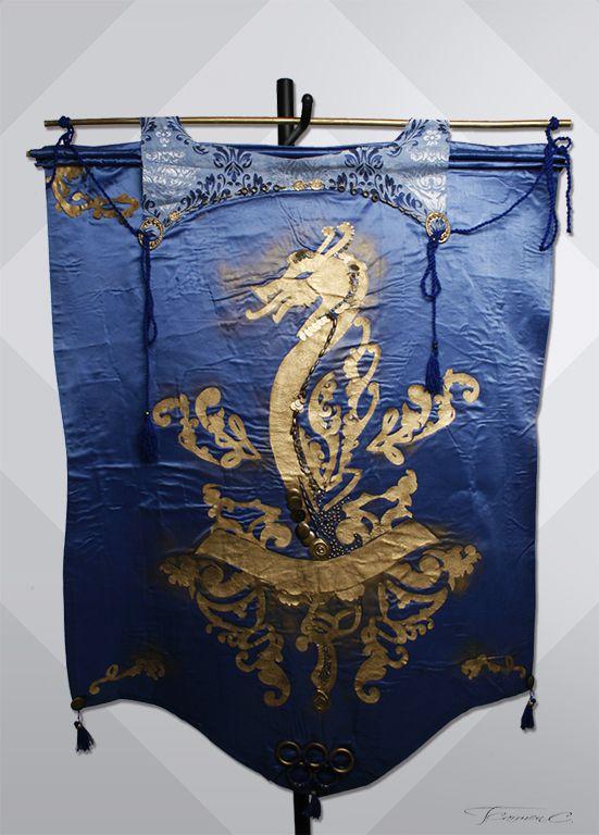 Drago-medieval flag by PoisonHoney92
