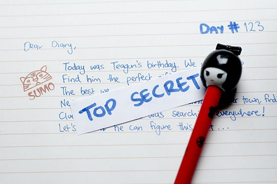 great article on how to write a diary. got me writing again, and it feels really good. :)