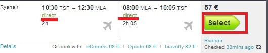 Cheap airline tickets for Malta from 57 €!!!