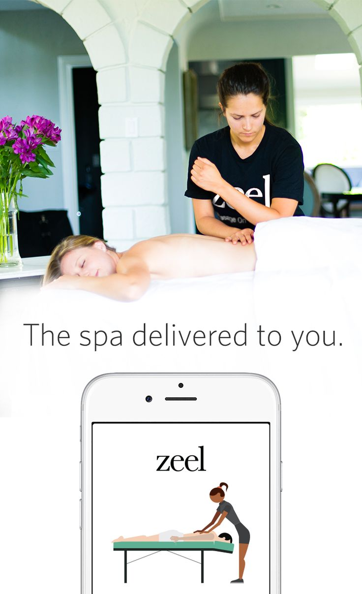No need to leave home or schedule in advance when you need a little R&R. We deliver top-quality massages to your home, hotel, workplace, or event in as little as an hour, or at the time you want – up to a month in advance. --- Use code PIN25 for $25 off your first Zeel Massage. Never expires.