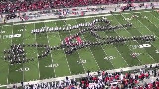 Ohio State Marching Band's ... wow
