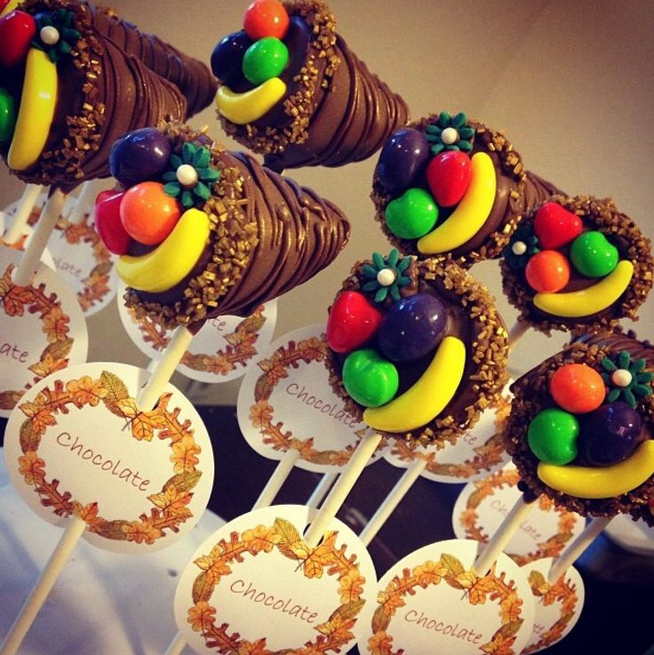Cake Pop Ideas For Thanksgiving : 25+ best ideas about Thanksgiving Cornucopia on Pinterest ...