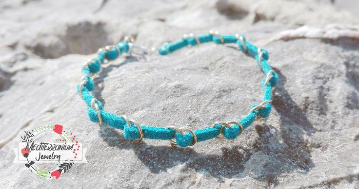 Suede gold friendship bracelet #friendshipbracelet #bracelet #bohochic #bohemian #fauxsuede