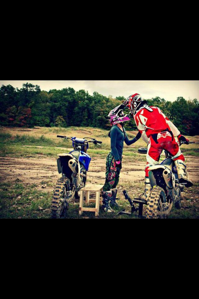 Motocross love   moto couples   Pinterest