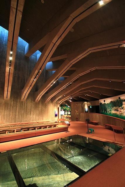 Jomon museum, designed by Toshihito YOKOUCHI, Japan