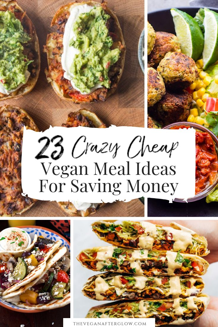 Are you looking some cheap vegan meal inspiration?…