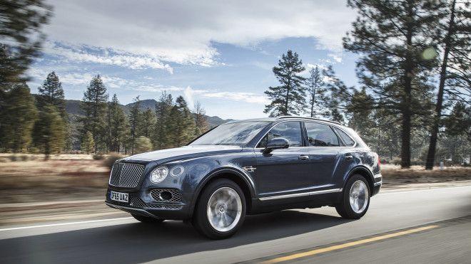Bentleys Uber-Luxury Bentayga SUV Is a Supercar Shaped Like an SUV
