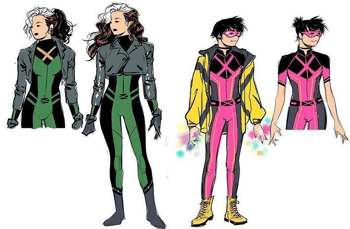 Who Is Your Favorite X Men Character S X Men Character Designs By Lucas Werneck Lukaswerneck Xmen Co Marvel Character Design X Men Man Character