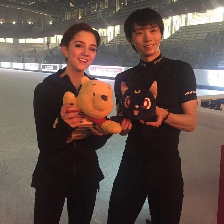 2016 grand prix finale - evgenia medvedeva yuzuru hanyu