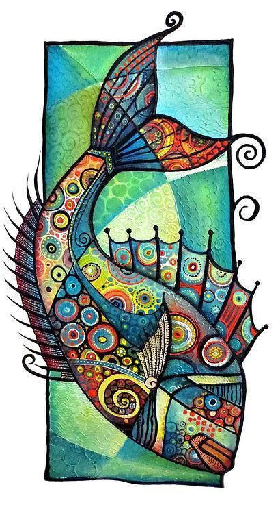 Art by Tanya McCabe | Sea creatures: