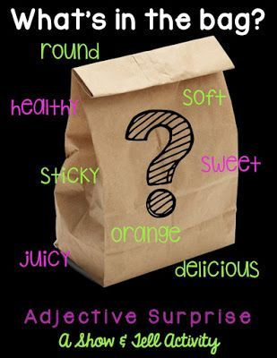 Teaching Adjectives with SHOW & TELL | TheHappyTeacher | Bloglovin'