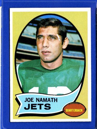 NFL Hall of Fame Quarterback Joe Wille Namath, who ruffled no small amount of feathers with his brash guarantee that his upstart AFL New York Jets would beat the established NFL powerhouse Baltimore Colts in SB III. Namath and the Jets stunned the Colts t https://www.fanprint.com/licenses/new-york-jets?ref=5750