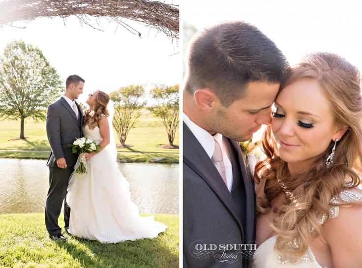 rebecca and kevin�s wedding shelton vineyards nc bride