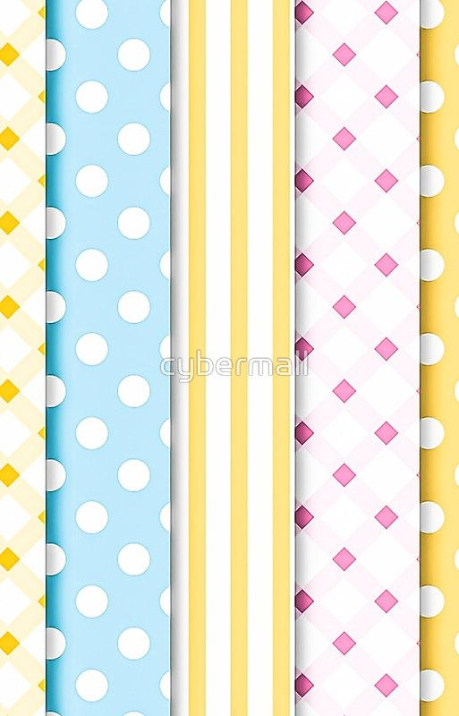 Variety Pastel Patterns