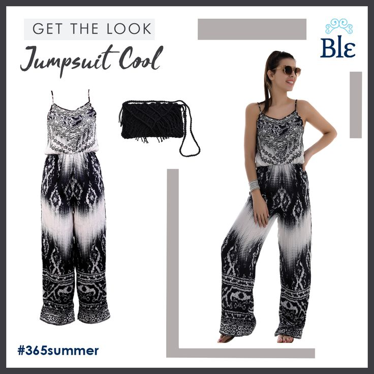 You loved #jumpsuits during winter. Now, get ready to love them all the way through spring and summer with Ble's extra cool designs! Black and white colours, soft fabrics and shapes that truly flatter all body-types, create a Spring-Summer collection you will fall in love with. Get the look here www.ble-shop.com
